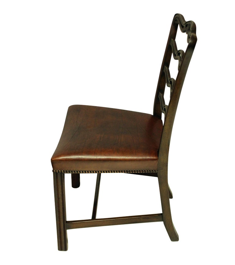 Set of Six George III Style Dining Chairs In Good Condition In London, GB