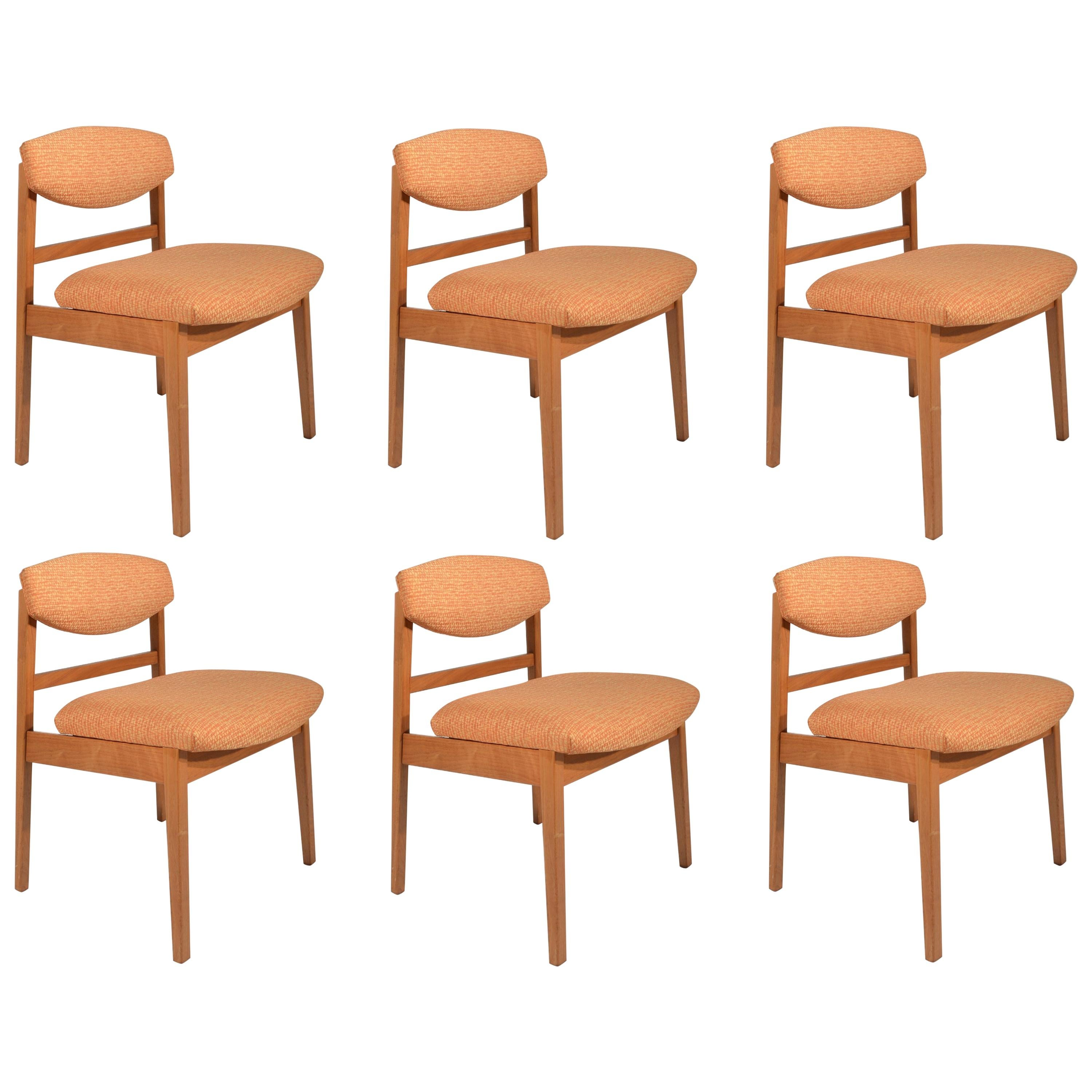 Set of Six George Nelson for Herman Miller Teak Dining Chairs