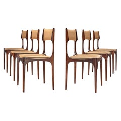 Set of Six Giuseppe Gibelli 'Beatrice' Dining Chairs