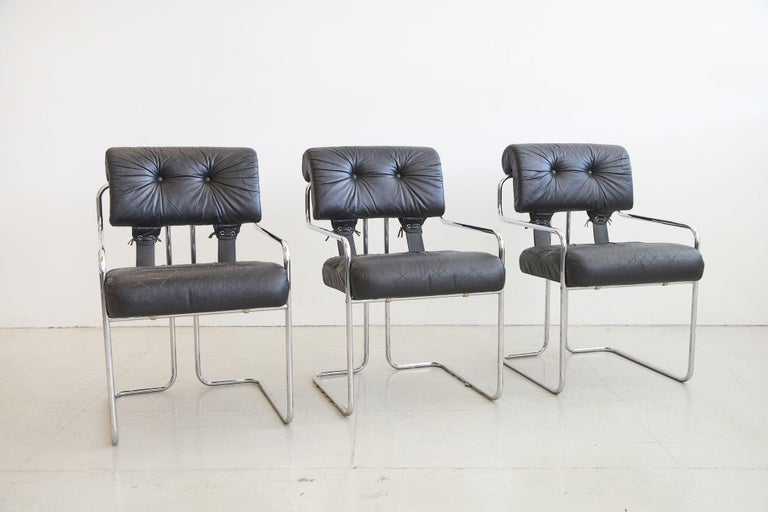Late 20th Century Tucroma Chairs for Pace Collection, Set of 6 For Sale