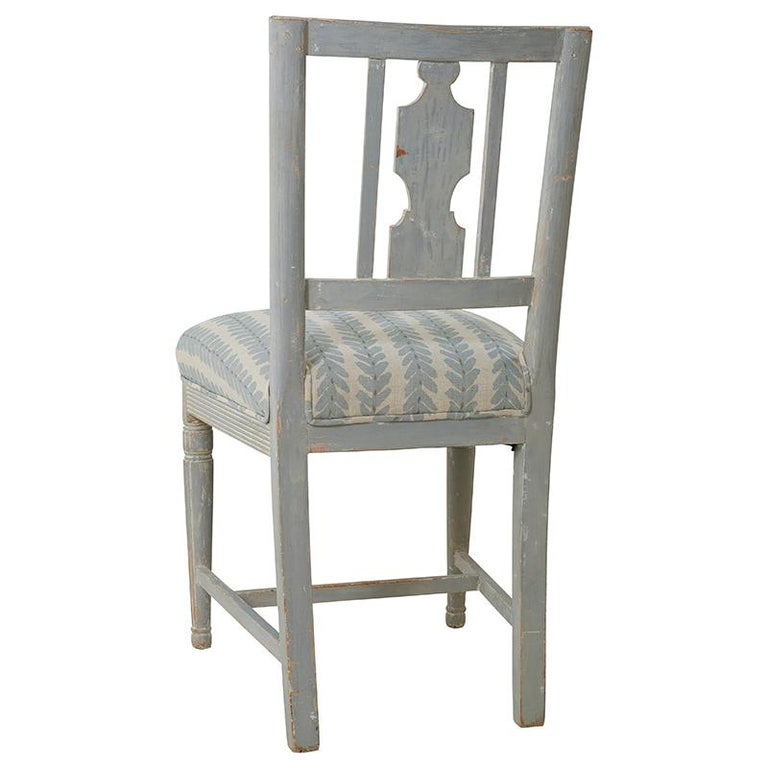 Set of Six Gustavian Chairs from Stockholm, Circa 1870 In Good Condition For Sale In New York, NY