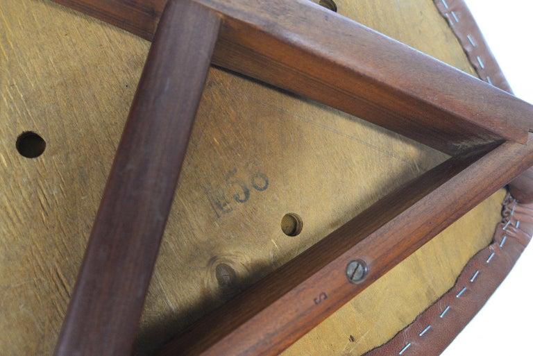 Set of Six Harry Østergaard Model 58 Teak Dining Chairs For Sale 4