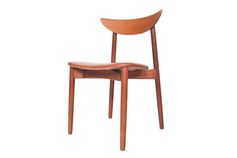 Set of Six Harry Østergaard Model 58 Teak Dining Chairs For Sale 2