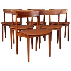 Set of Six Henry Rosengren Hansen Dining Chairs
