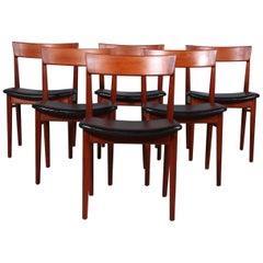 Set of Six Henry Rosengren Hansen Dining Chairs