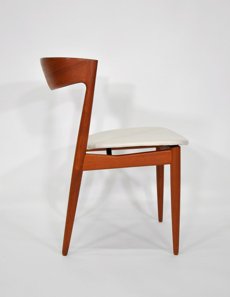 Set of Six H.W. Klein for Bramin Teak Dining Chairs For Sale 4