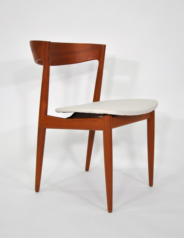 Set of Six H.W. Klein for Bramin Teak Dining Chairs For Sale 5