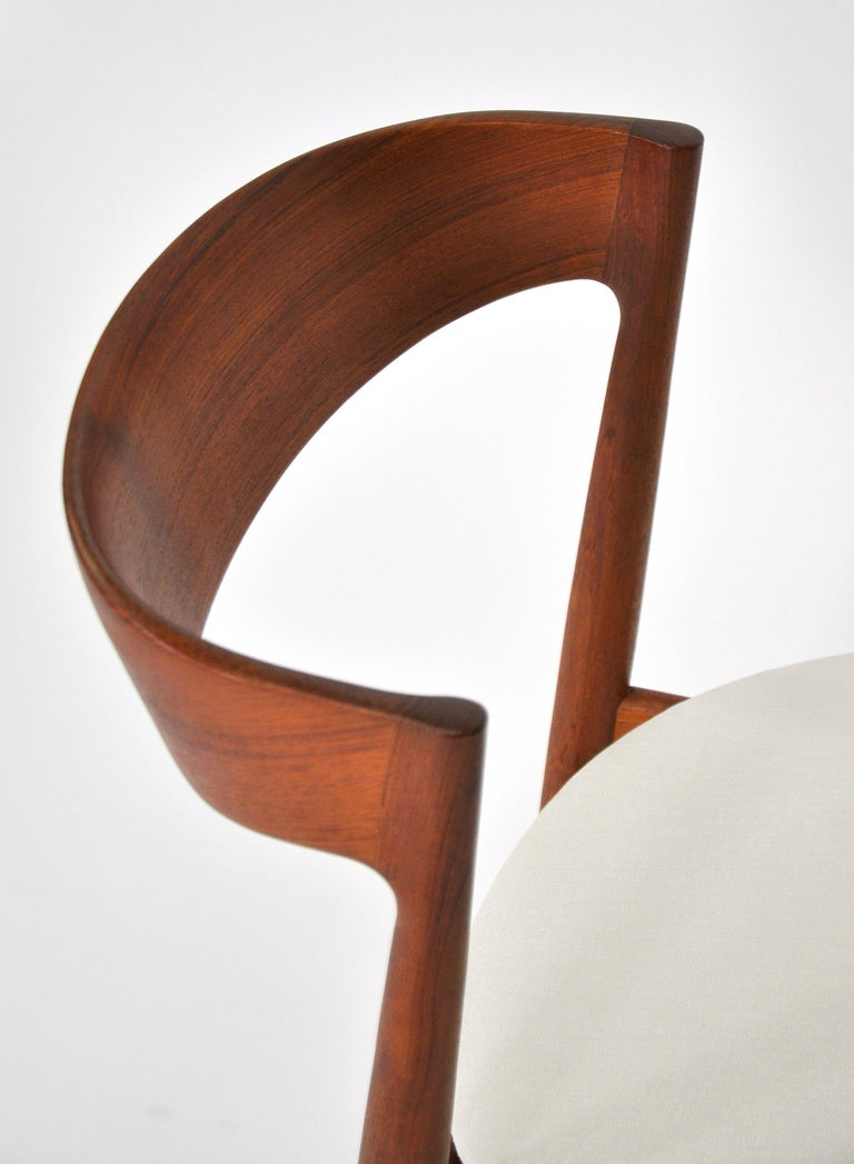 Set of Six H.W. Klein for Bramin Teak Dining Chairs For Sale 8