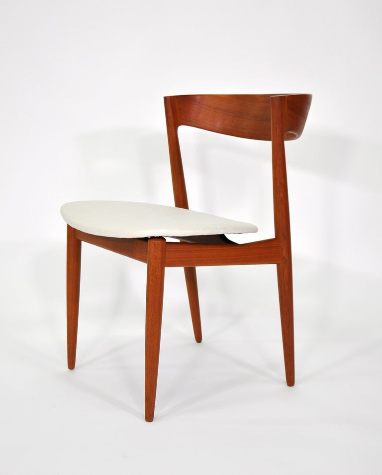 Mid-20th Century Set of Six H.W. Klein for Bramin Teak Dining Chairs For Sale