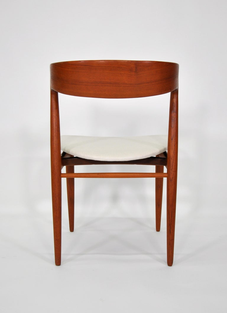 Set of Six H.W. Klein for Bramin Teak Dining Chairs For Sale 2