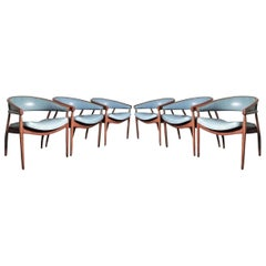 "Set of Six James Mont ""King Cole"" Chairs"