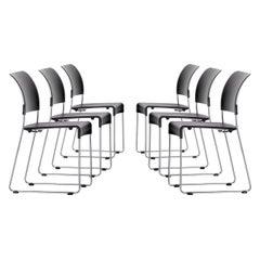 Set of Six Jasper Morrison Sim Chairs by Vitra
