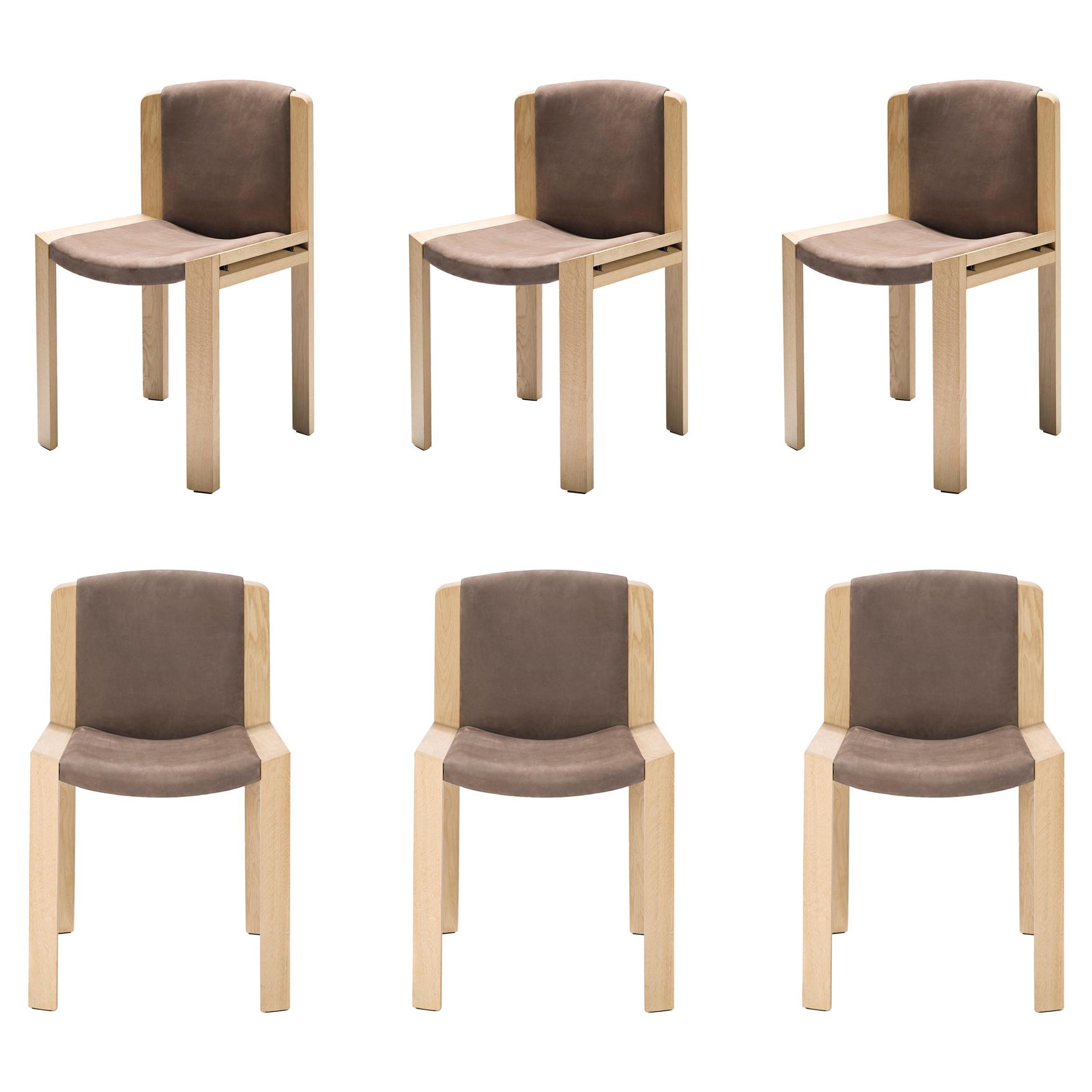 Set of Six Joe Colombo 'Chair 300' by Karakter