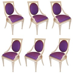 Set of Six John Widdicomb Dining Chairs