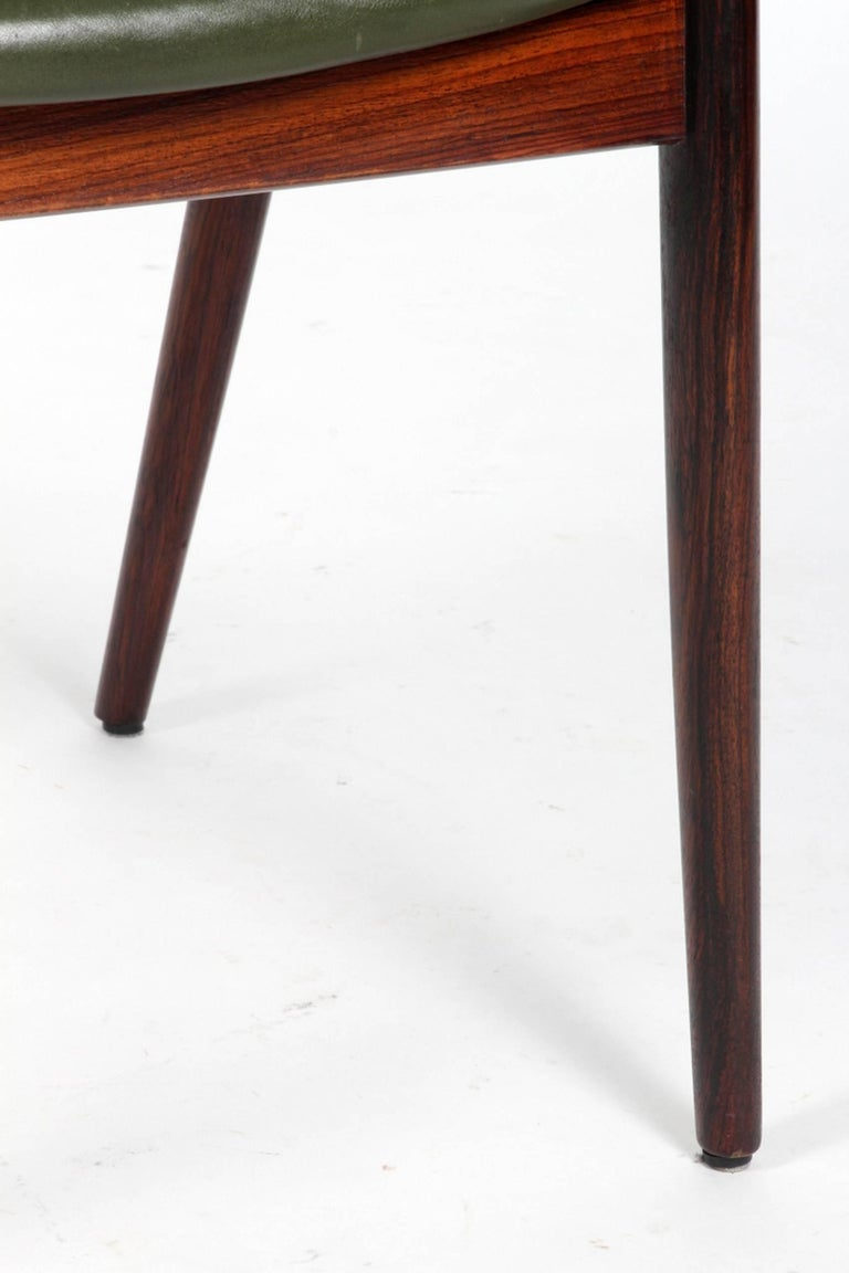 Set of Six Kai Kristiansen Dining Chairs Model 42 In Excellent Condition For Sale In Vienna, AT