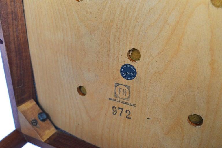 Set of Six Kai Kristiansen for Fritz Hansen Teak Dining Chairs For Sale 3