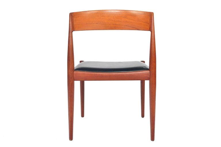 Set of Six Kai Kristiansen for Fritz Hansen Teak Dining Chairs For Sale 2