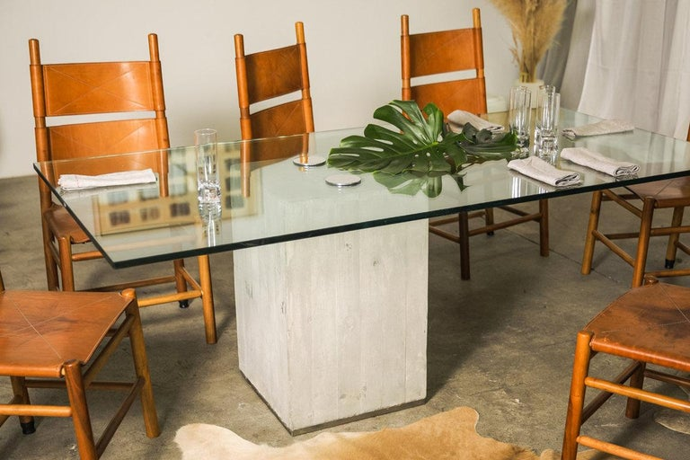 Set of Six Kentucky Chairs by Carlo Scarpa for Bernini For Sale 6