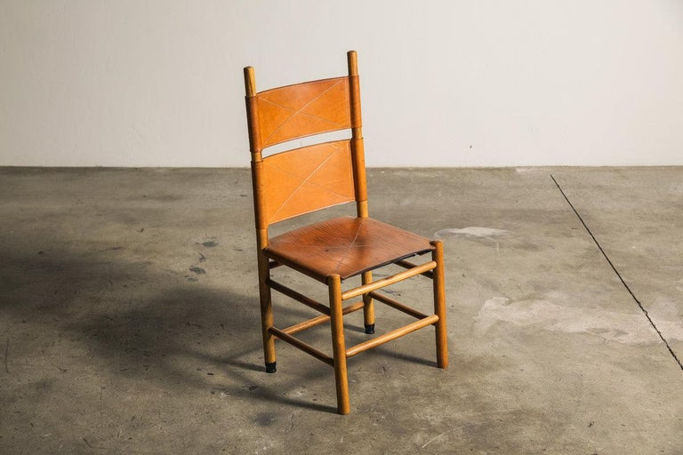 Set of Six Kentucky Chairs by Carlo Scarpa for Bernini In Excellent Condition For Sale In Melbourne, VIC