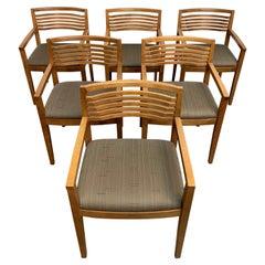 "Set of Six Knoll Studio ""Ricchio"" Chairs"
