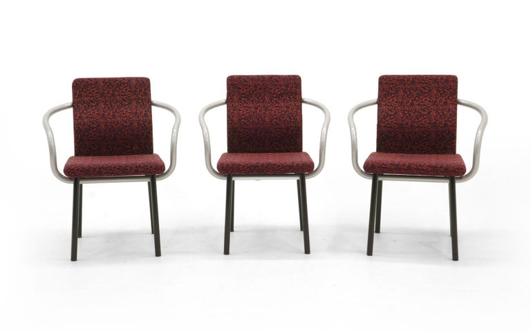 Post-Modern Set of Six Mandarin Dining Chairs by Ettore Sottsass for Knoll For Sale