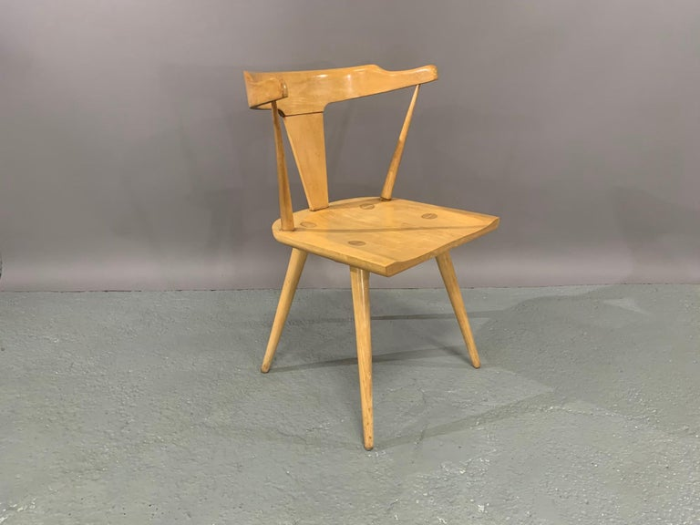 Set of Six Maple Dining Chairs by Paul McCobb for Winchendon/Planner Group For Sale 4