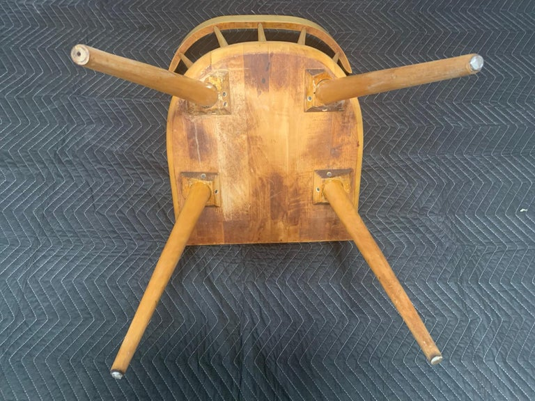 Set of Six Maple Dining Chairs by Paul McCobb for Winchendon/Planner Group For Sale 5