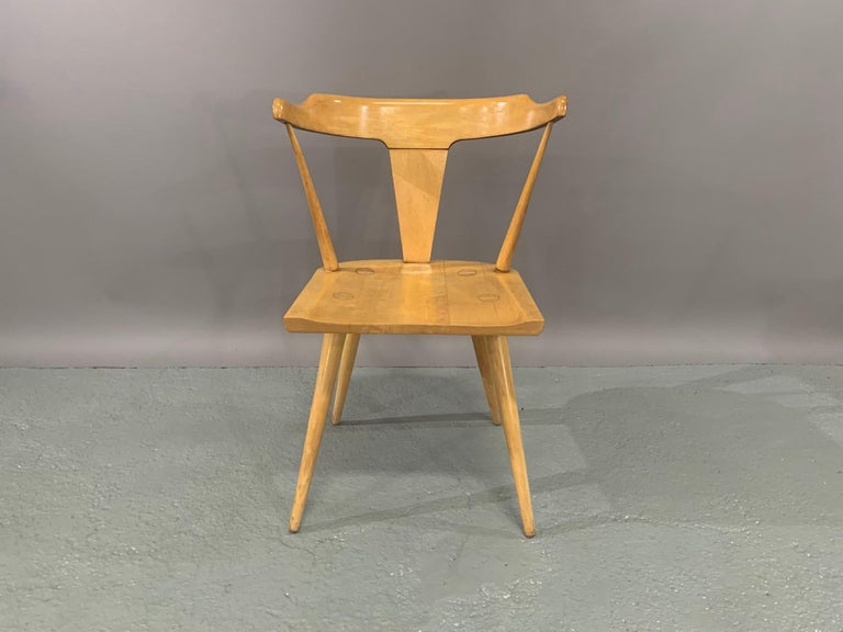 Set of Six Maple Dining Chairs by Paul McCobb for Winchendon/Planner Group For Sale 1
