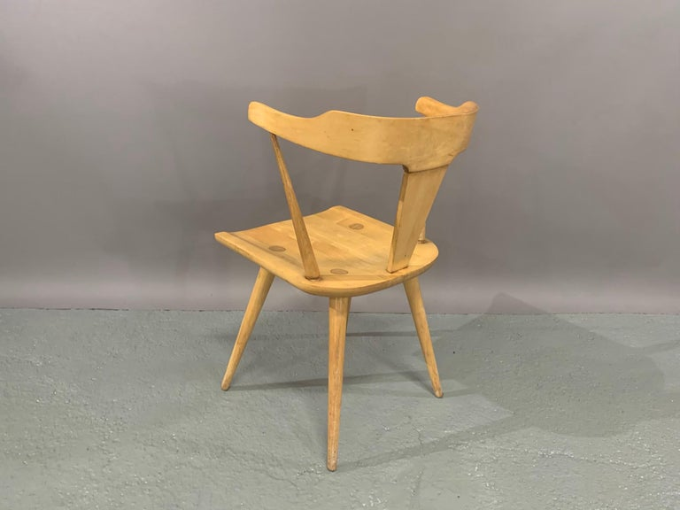 Set of Six Maple Dining Chairs by Paul McCobb for Winchendon/Planner Group For Sale 2