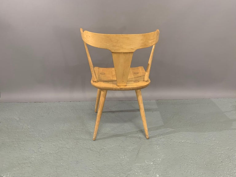 Set of Six Maple Dining Chairs by Paul McCobb for Winchendon/Planner Group For Sale 3