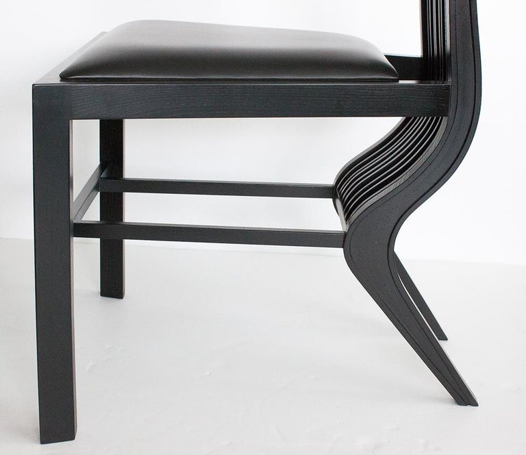 Set of Six Marilyn Dining Chairs by Arata Isozaki For Sale 3
