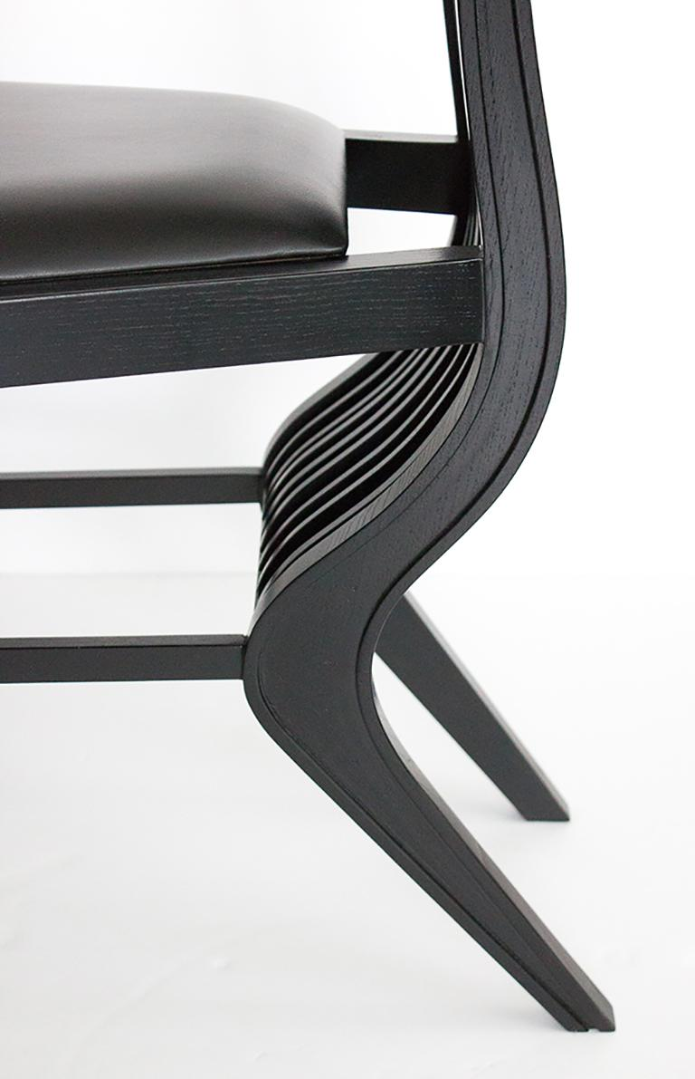 Set of Six Marilyn Dining Chairs by Arata Isozaki For Sale 4
