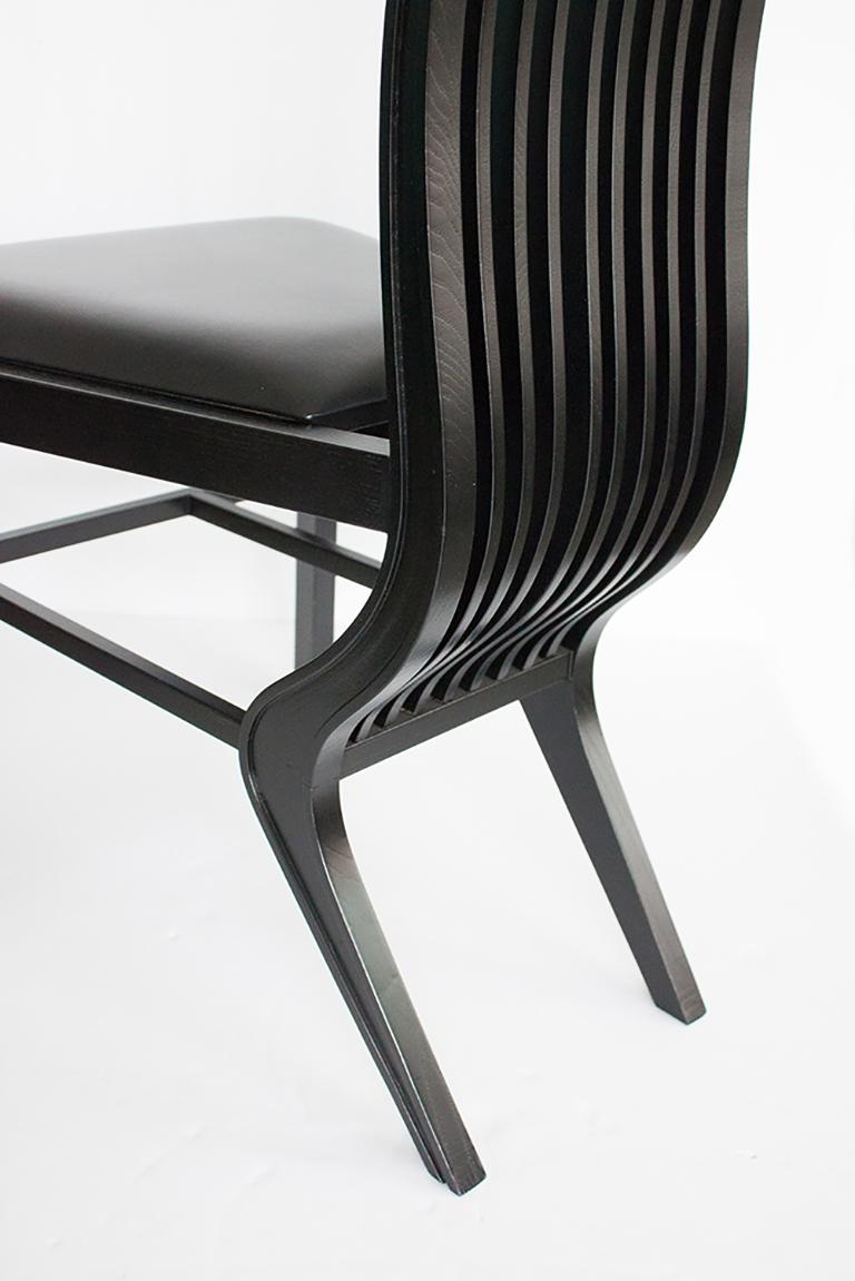 Set of Six Marilyn Dining Chairs by Arata Isozaki For Sale 6