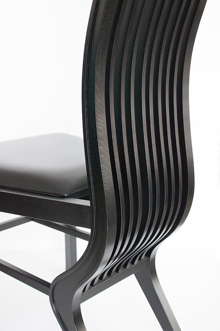 Set of Six Marilyn Dining Chairs by Arata Isozaki For Sale 7