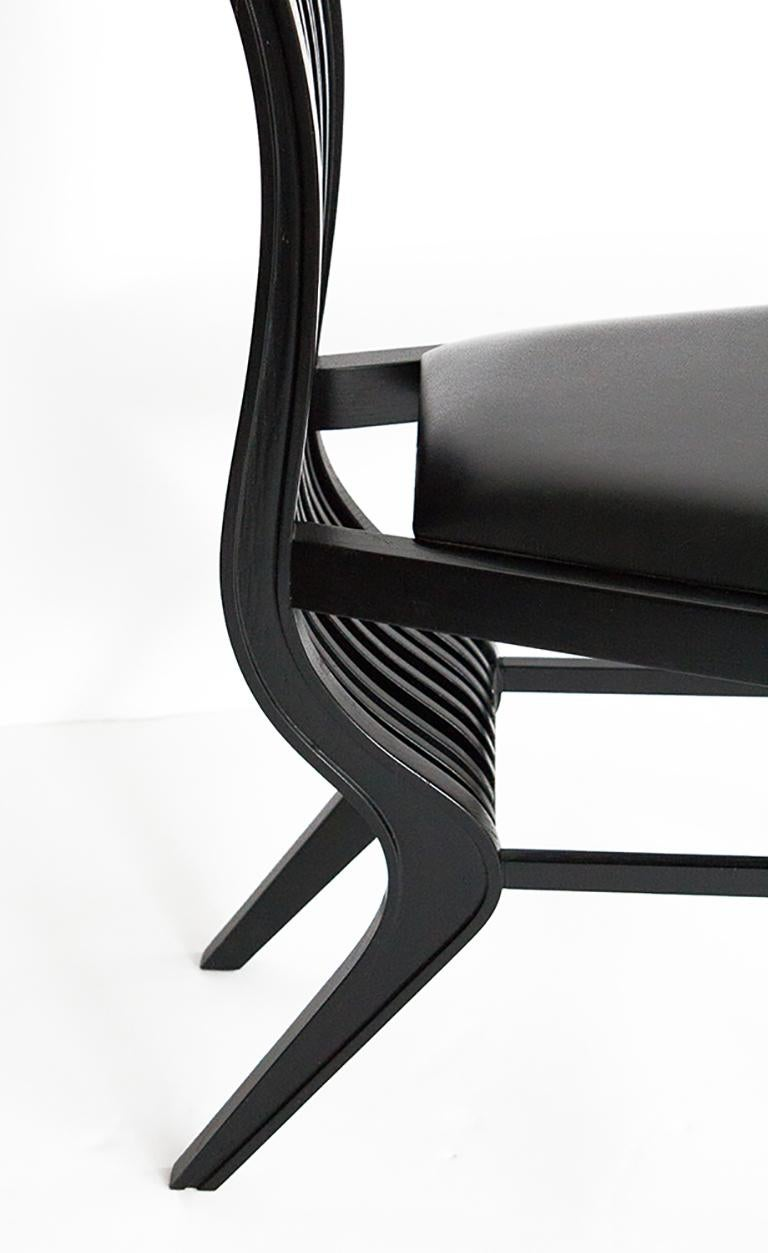 Set of Six Marilyn Dining Chairs by Arata Isozaki For Sale 10