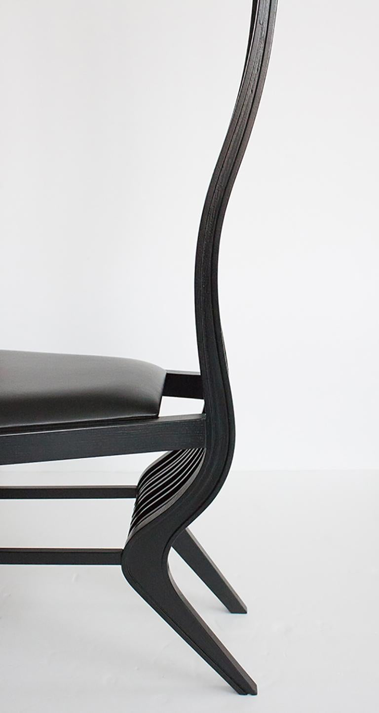 Set of Six Marilyn Dining Chairs by Arata Isozaki For Sale 11