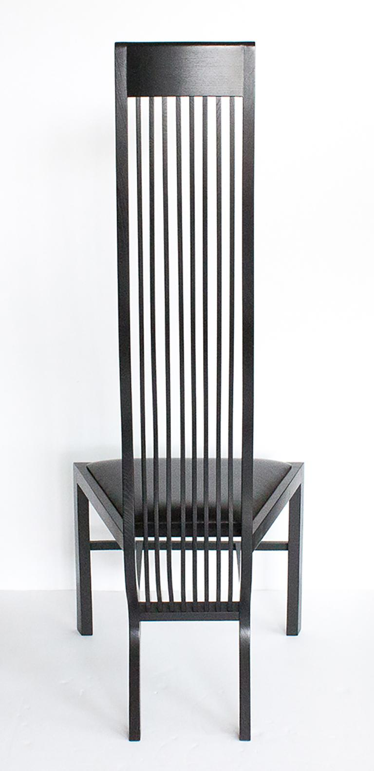 Late 20th Century Set of Six Marilyn Dining Chairs by Arata Isozaki For Sale