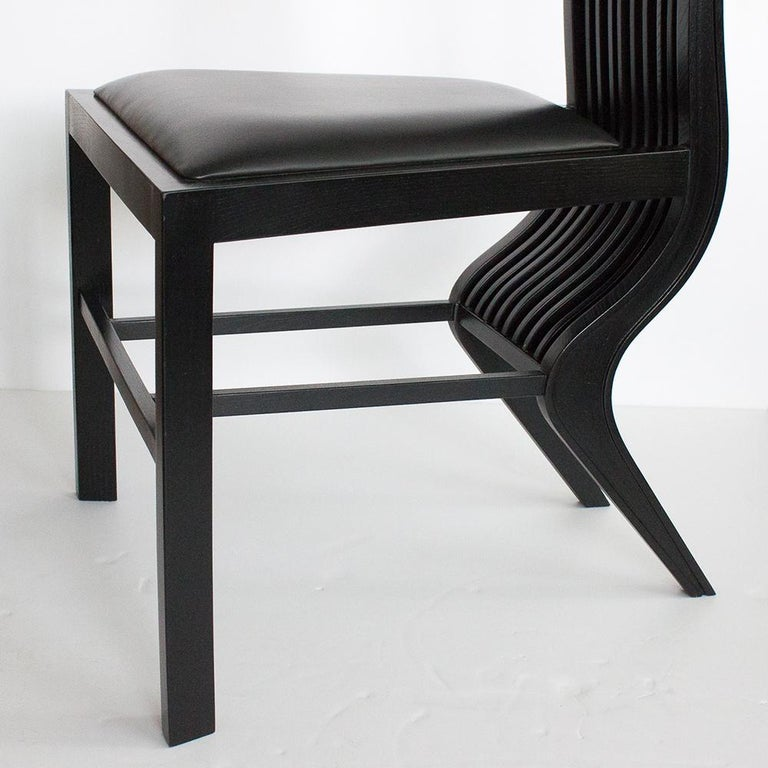 Set of Six Marilyn Dining Chairs by Arata Isozaki For Sale 1