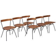 Set of Six Matched 1535 Paul McCobb Planner Group Dining Chairs for Winchendon