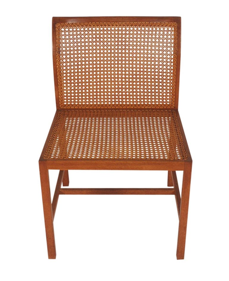 Mid-20th Century Set of Six Midcentury Danish Modern Cane Dining Chairs by Ditte & Adrian Heath