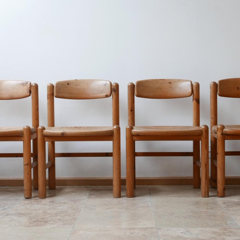 Danish Set of Six Midcentury Dining Chairs by Rainer Daumiller