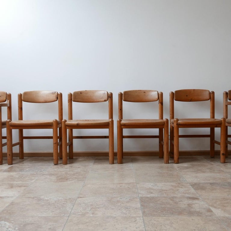 Set of Six Midcentury Dining Chairs by Rainer Daumiller In Good Condition In Surbiton, Surrey