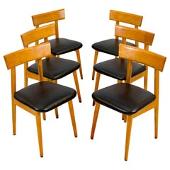 Set of Six Midcentury Dining Chairs, Conant Ball