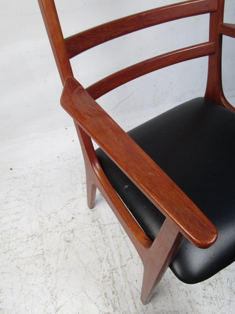 Set of Six Mid-Century Modern Danish K.S. Dining Chairs For Sale 5