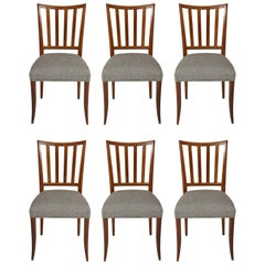 Set of Six Mid-Century Modern Dining Chairs