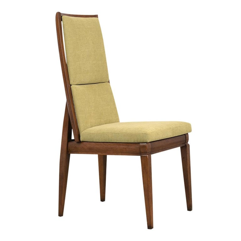 Set of Six Mid-Century Modern Style Dining Room Chairs For Sale 1