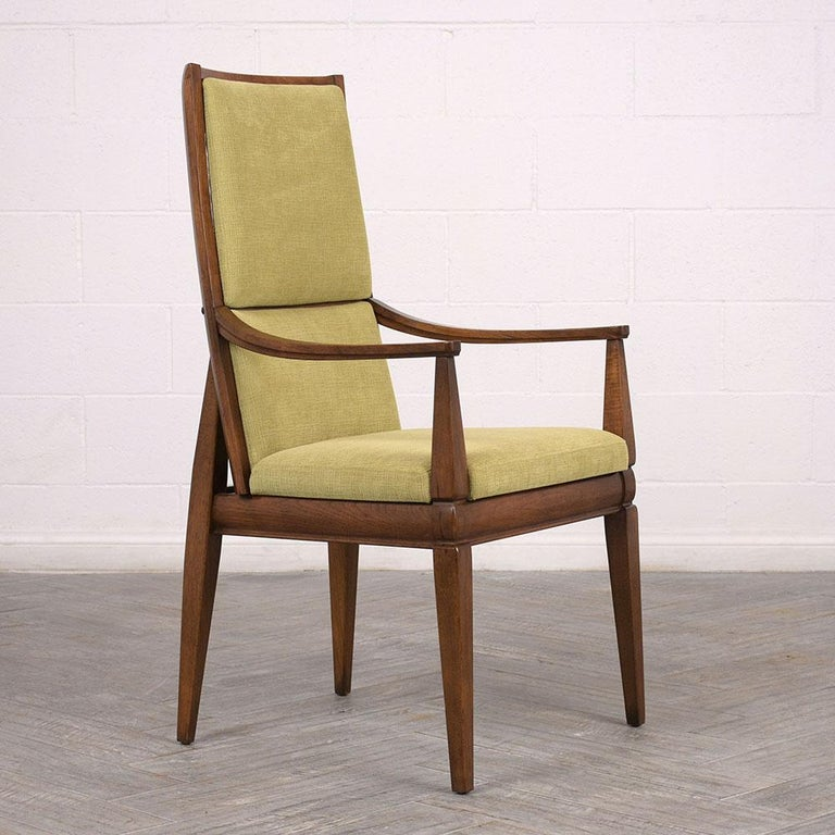 American Set of Six Mid-Century Modern Style Dining Room Chairs For Sale