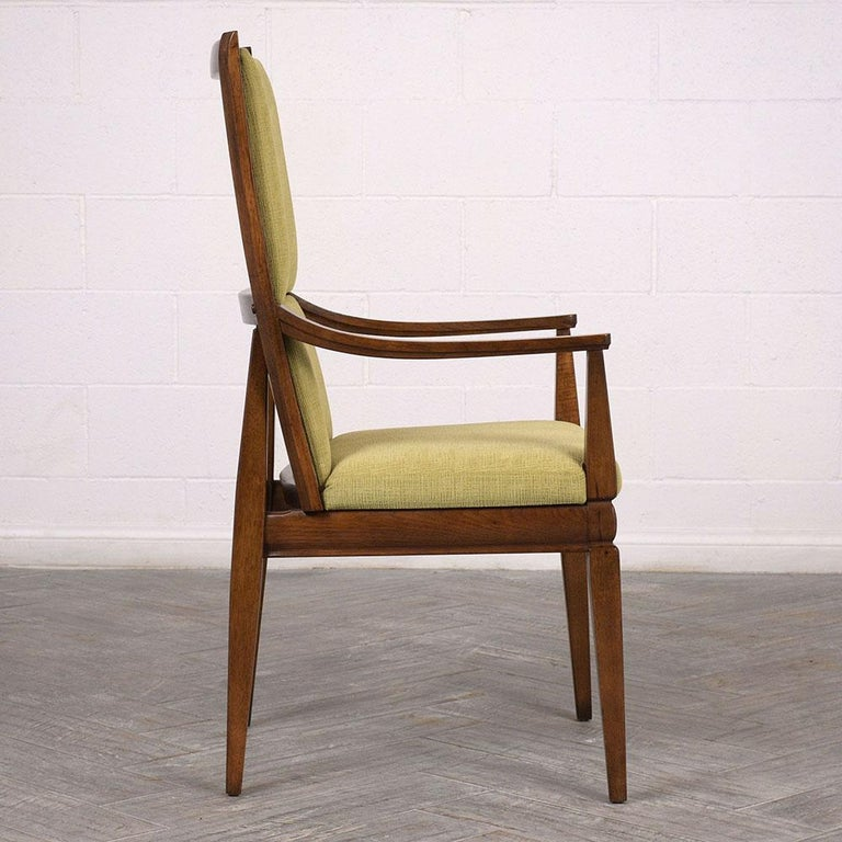 Mid-20th Century Set of Six Mid-Century Modern Style Dining Room Chairs For Sale