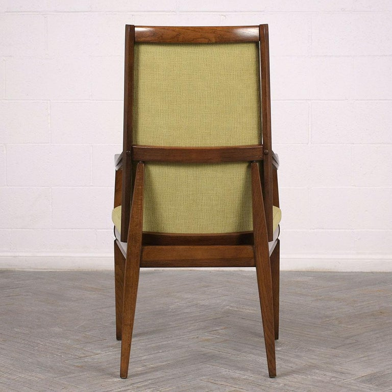 Set of Six Mid-Century Modern Style Dining Room Chairs For Sale 5