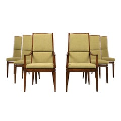 Set of Six Mid-Century Modern Style Dining Room Chairs